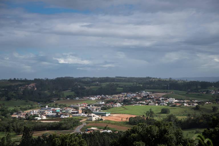 Vista de Treze de Maio; município no interior de Santa Catarina teve a maior votação do Brasil para o candidato Jair Bolsonaro no primeiro turno (83,89%)