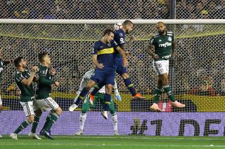 Copa Libertadores - Argentina's Boca Juniors v Brazil's Palmeiras Semi Final First Leg