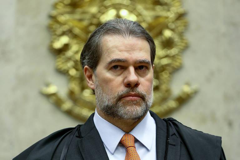 O ministro Dias Toffoli, atual presidente do Supremo Tribunal Federal