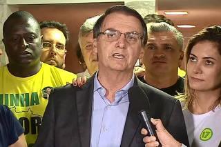 BOLSONARO ELEITO DISCURSO