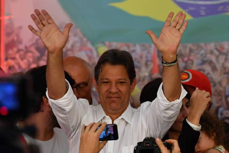 Fernando Haddad, candidato derrotado à Presidência pelo PT