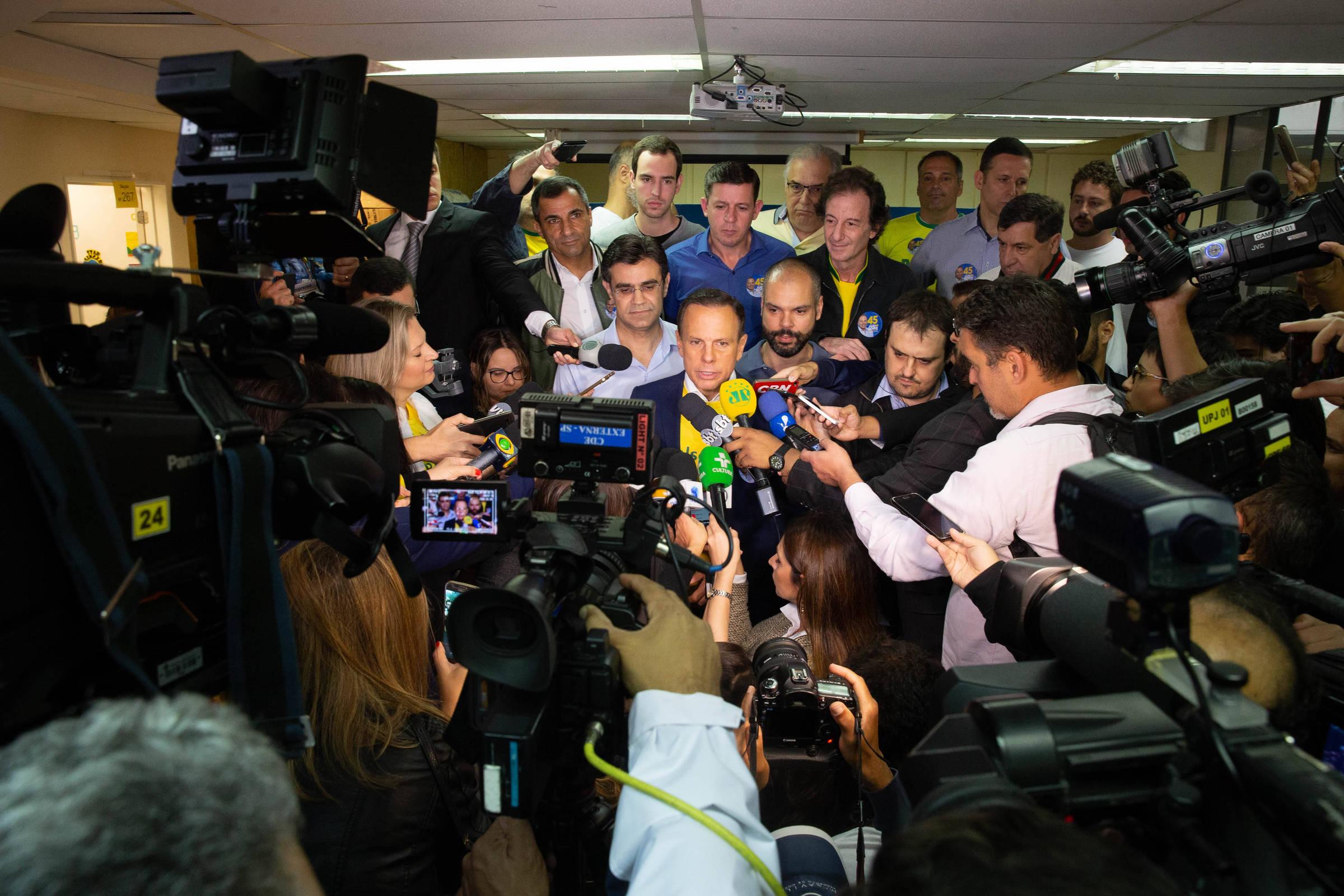 Doria chama o quinto ministro de Temer para governo de São Paulo