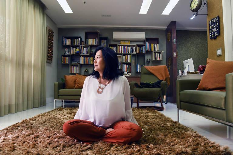 A psicóloga especialista em suicídio Karina Okajima Fukumitsu