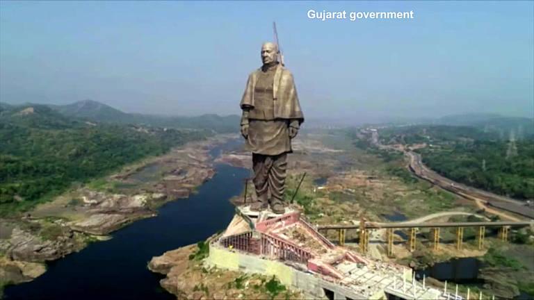 Grande e cara: estátua mais alta do mundo custa R$ 1,5 bilhão à Índia