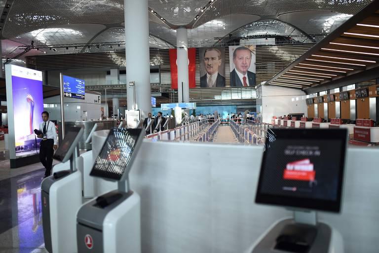 Novo aeroporto da Turquia