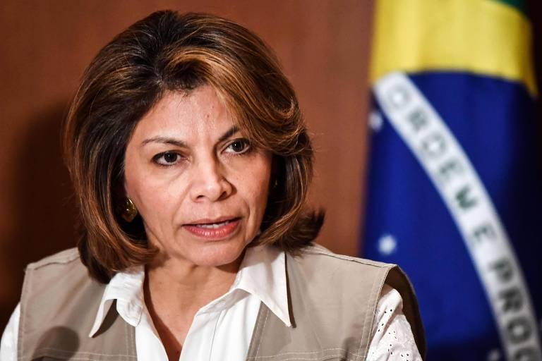 Chefe da missão da OEA (Organização dos Estados Americanos) que acompanhou as eleições no Brasil, Laura Chinchilla