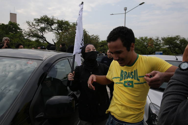 Tarde de protestos na USP