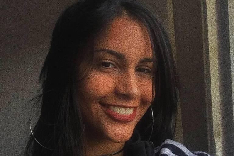 A estudante Rayane Paulino, de 16 anos, que foi morta por asfixia, segundo laudo