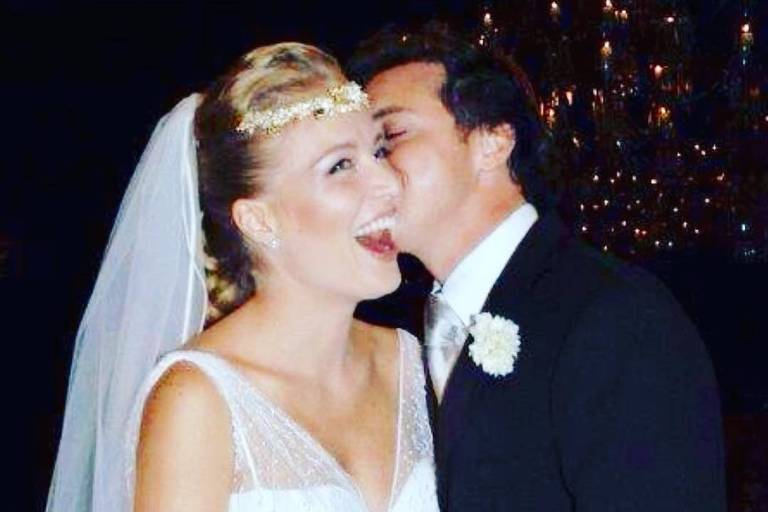 Angélica e Huck comemoram 14 anos de casado