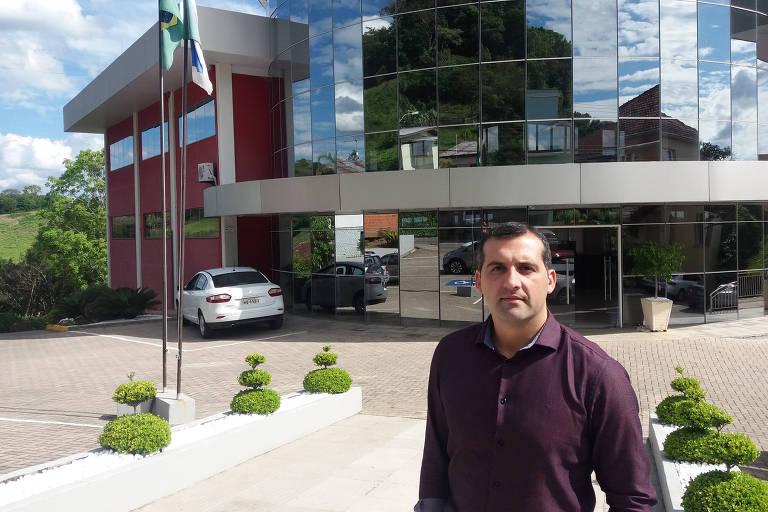 Prefeito de Nova Pádua, Ronaldo Boniatti (PSDB)