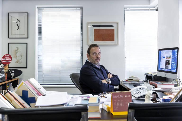 Luiz Schwarcz, editor  e diretor da Comapanhia das Letras