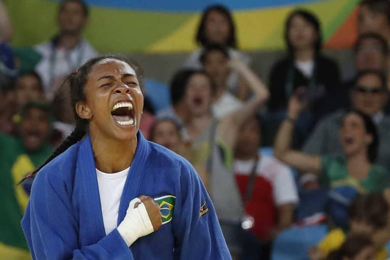Medalhista nos últimos cinco mundiais, judoca Érika Miranda se aposenta