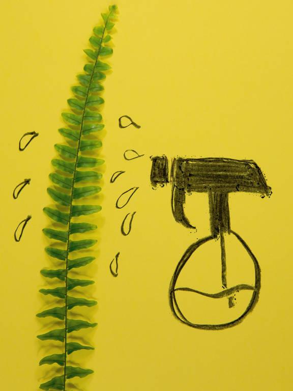 Ilustração de William Mur para a categoria Top Meio Ambiente