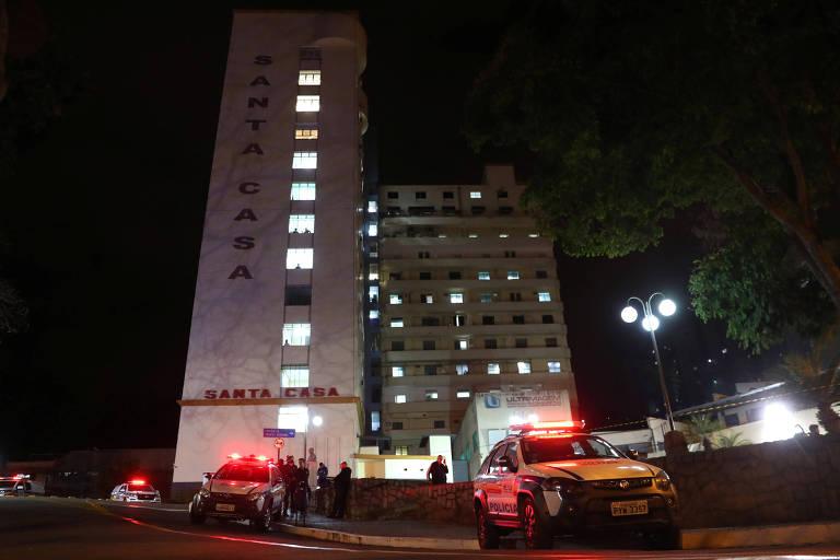 Santa Casa de Juiz de Fora (MG), hospital no qual Jair Bolsonaro (PSL) foi atendido após sofrer ataque durante ato de campanha