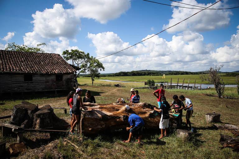 Imagens do Festival Corpus, em Oiapoque, no Amapá