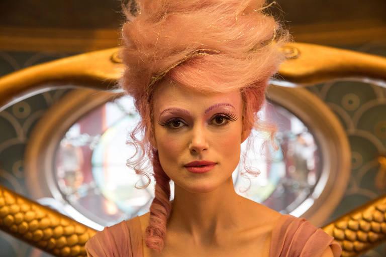 Keira Knightley como Sugar Plum em 'O Quebra-Nozes e os Quatro Reinos'