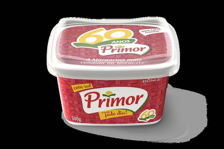 Embalagem celebra os 60 anos da margarina Primor, destaque no Nordeste
