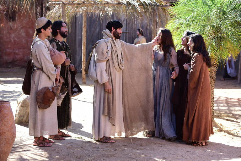 Cena da novela 'Jesus', da Record