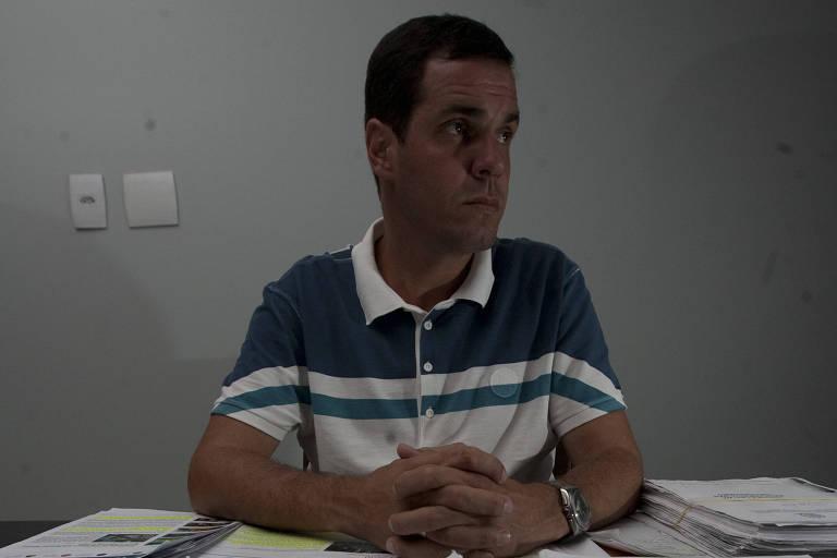 O ex-árbitro de futebol Gutemberg de Paula Fonseca, que trabalhou na campanha de Wilson Witzel (PSC) para o governo do Rio de Janeiro