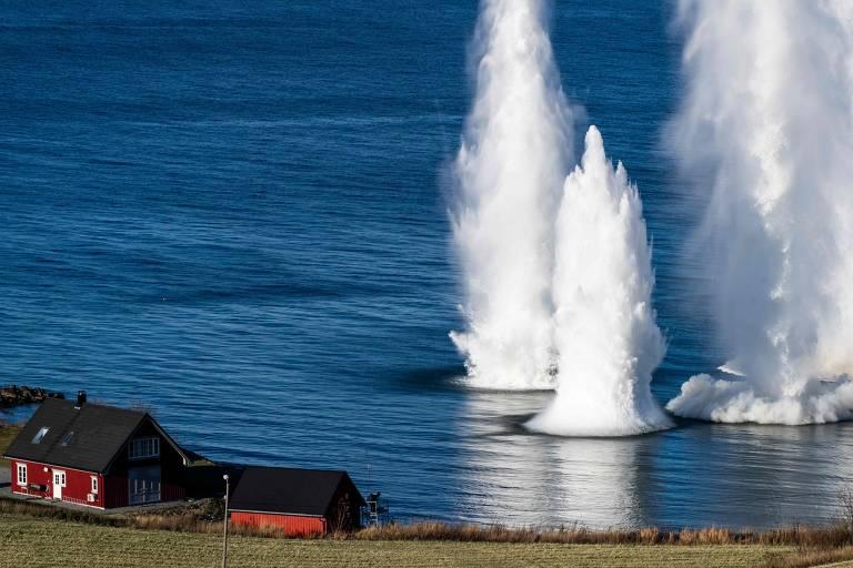 Exercícios militares da Otan na Noruega