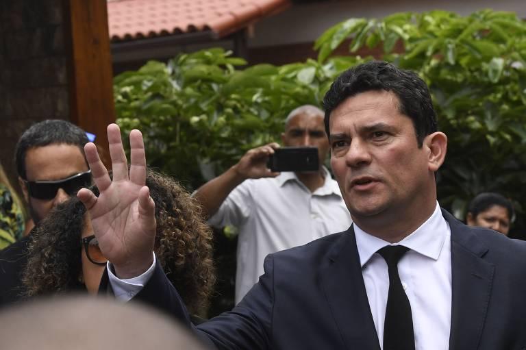 Juiz Sergio Moro, que aceitou convite do presidente eleito Jair Bolsonaro para o Ministério da Justiça