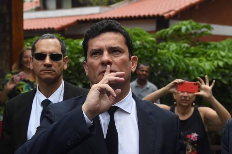 <strong>Os momentos de Sergio Moro</strong>