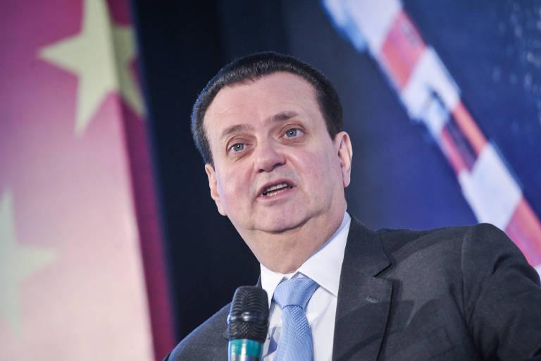 Ministro Gilberto Kassab em evento em São Paulo