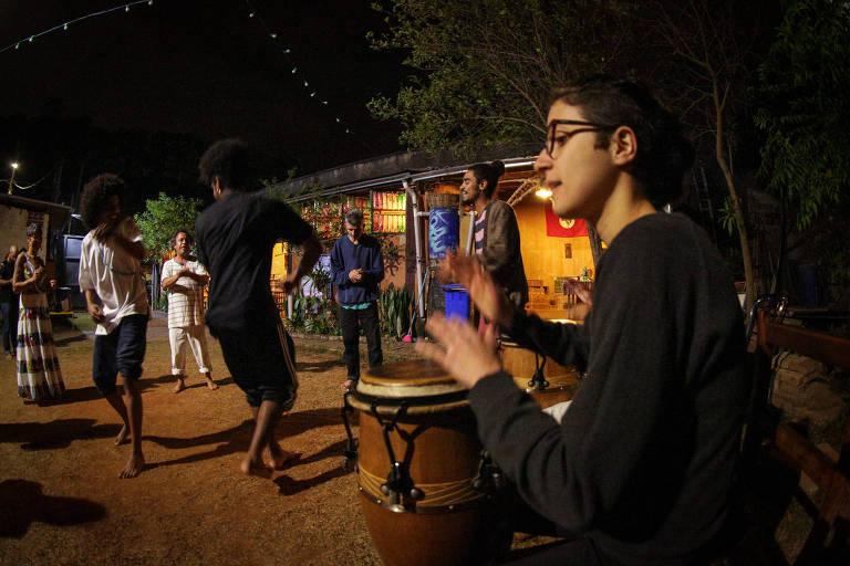Jongo é realizado há quatro anos em Perus