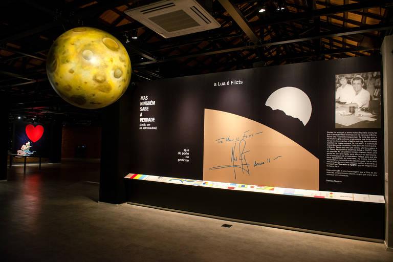 """Exposição """"Os Planetas do Ziraldo"""" fica em cartaz na nova Casa Melhoramentos"""