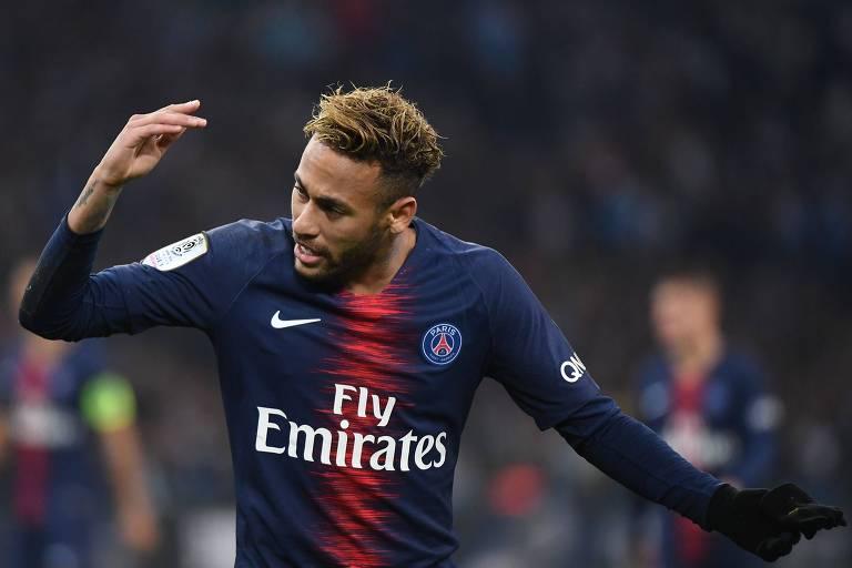 Neymar é o principal nome do Paris Saint-Germain, o atual campeão francês