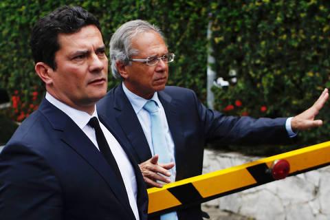 Moro e Guedes têm alta aprovação entre ricos e baixa entre pobres, diz Datafolha