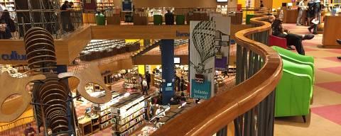 SÃO PAULO, SP, BRASIL, 22.03.2017 - Vista da Livraria Cultura do Conjunto Nacional, em São Paulo (SP). (Foto: Léo Burgos/Folhapress)