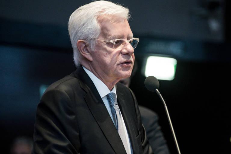 O ministro de Minas e Energia, Moreira Franco, um dos principais auxiliares de Michel Temer