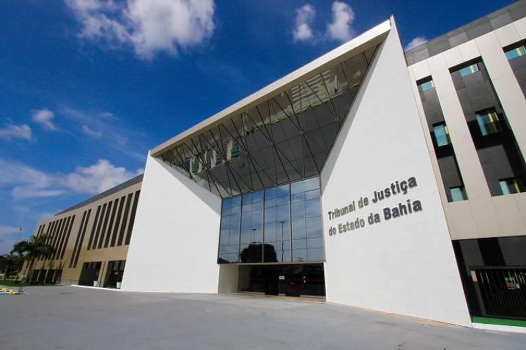 Fachada do Tribunal de Justiça da Bahia