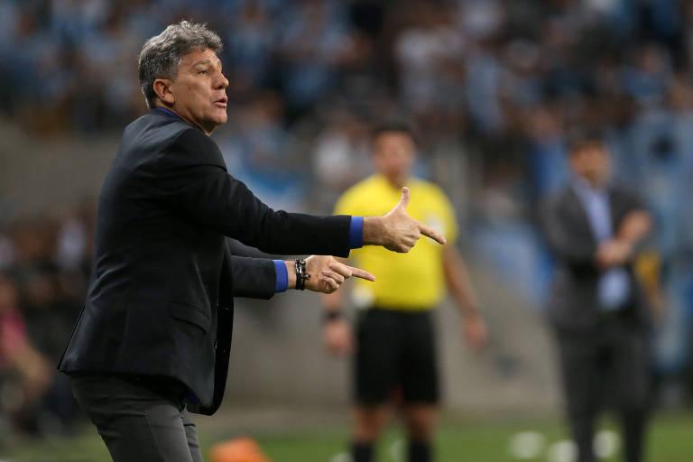 O Grêmio de Renato chegou à semifinal da Copa Libertadores de 2018, mas caiu para o River Plate (ARG)