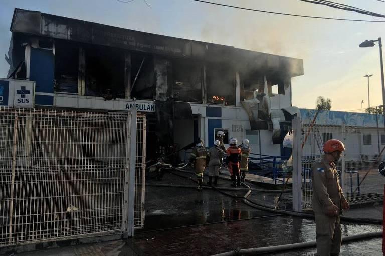 Incêndio no Hospital Lourenço Jorge