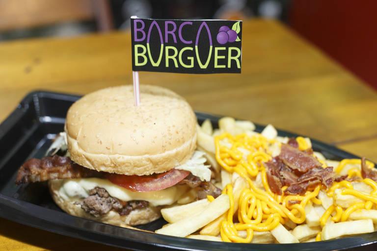 Barca de hambúrguer
