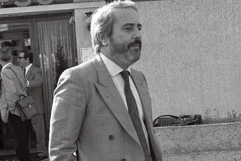 O juiz italiano Giovanni Falcone