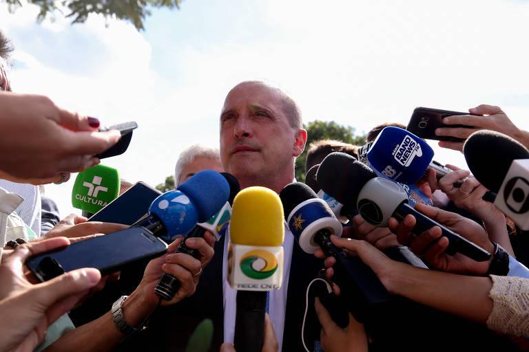 Onyx Lorenzoni, futuro ministro da Casa Civil de Jair Bolsonaro