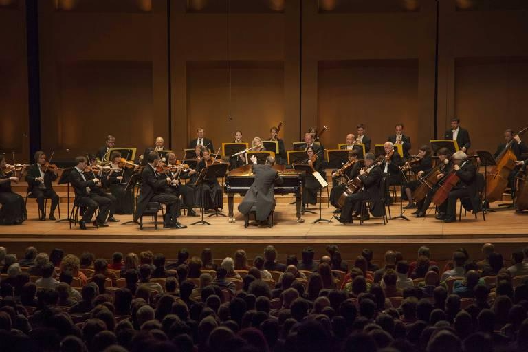 Orquestra de Câmara, em Bogotá, em abril de 2015