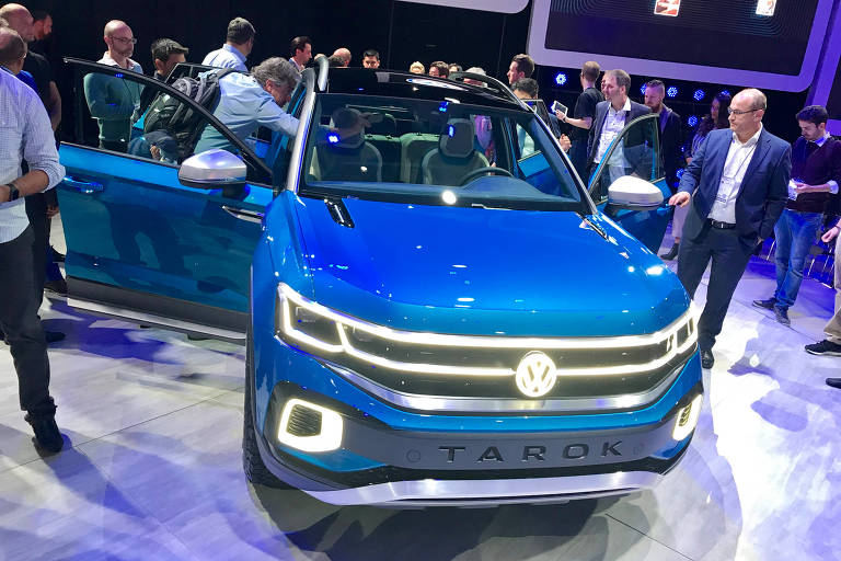 Volkswagen apresenta picape conceitual Tarok, futura concorrente da Fiat Toro). ( Foto: Eduardo Sodré / Folhapress). ***EXCLUSIVO***