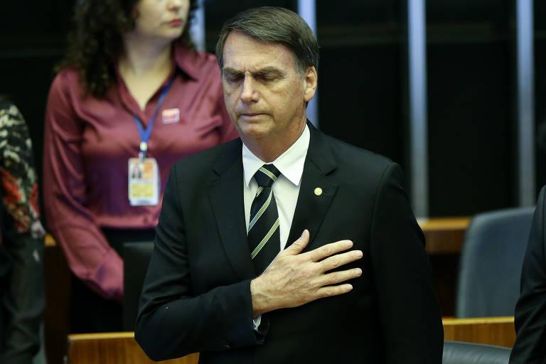 Bolsonaro participa de 1º evento como presidente eleito