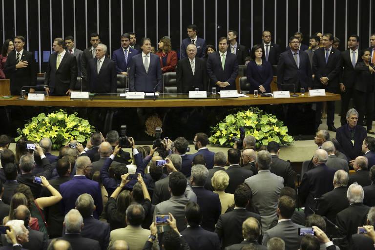 Bolsonaro participa de primeiro evento como presidente eleito