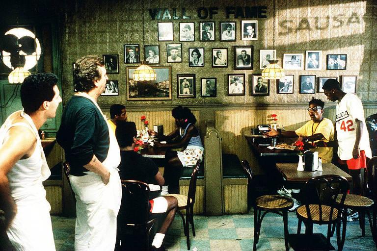 Cena do filme 'Faça a Coisa Certa', de Spike Lee