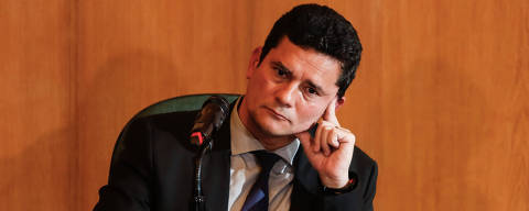 Curitiba, Parana, Brasil, 06-11-2018,16h00 - Juiz federal Sergio Moro concede primeira entrevista coletiva após ter aceitado o convite do presidente eleito Jair Bolsonaro para ocupar o cargo de ministro da Justiça em seu governo. (Foto: Theo Marques/Folhapress - FSP-PODER)