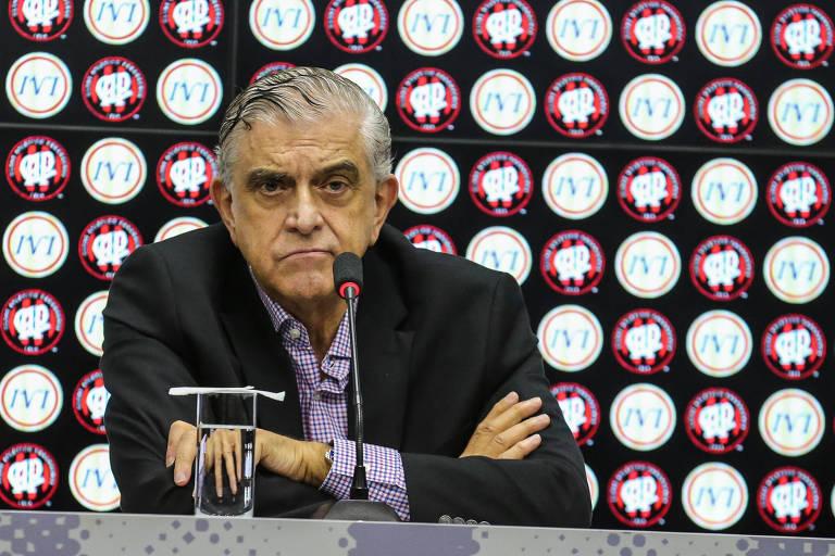 Mário Celso Petraglia , presidente do Conselho Deliberativo do Atlético-PR