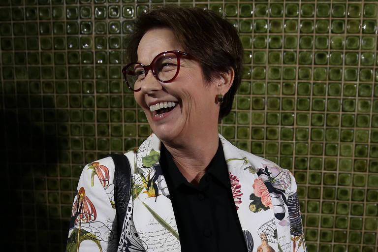 A deputada federal Tereza Cristina (DEM-MS), indicada por Bolsonaro para o Ministério da Agricultura