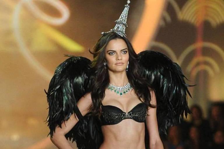 A modelo Barbara Fialho em foto publicada no seu Instagram