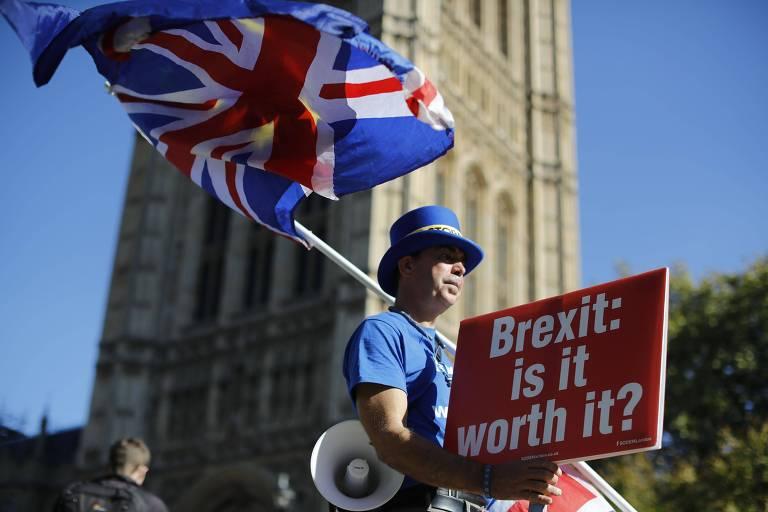 Um Brexit 'sem acordo' justificaria um novo referendo