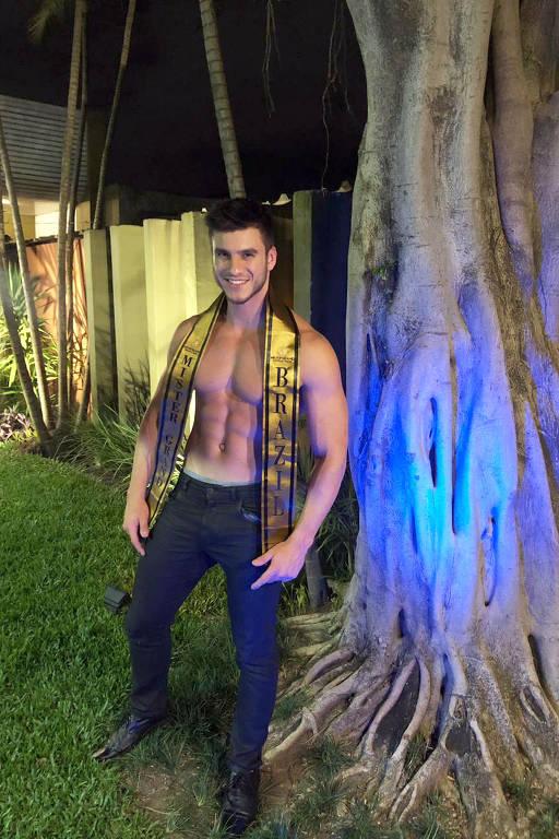 Mister Brasil - Bruno Poczinek, 29, policial militar